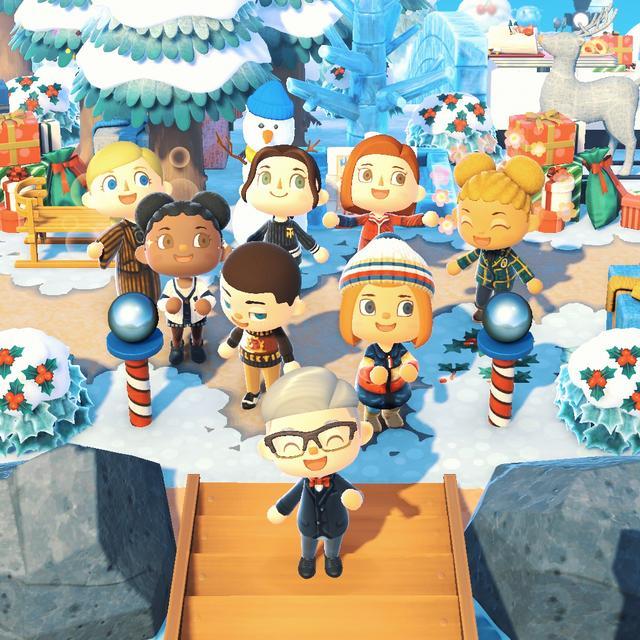 《动森》在游戏里开店卖新衣 明年将继续更新